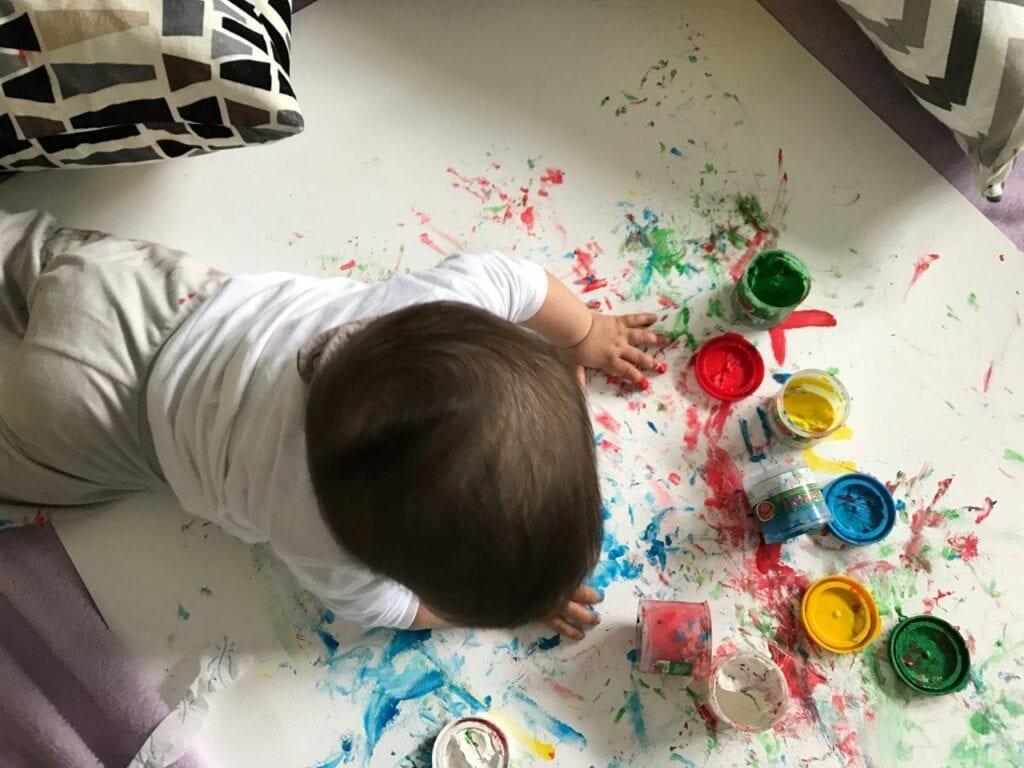 Pintura para bebês