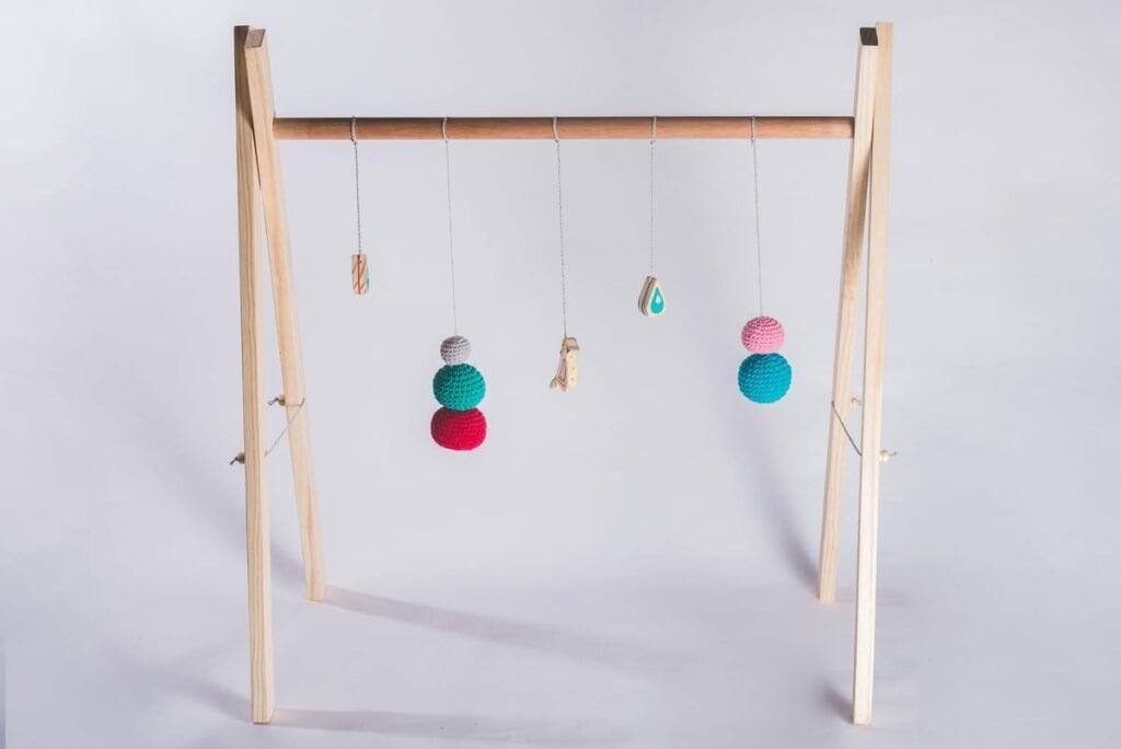 arco de madeira montessori