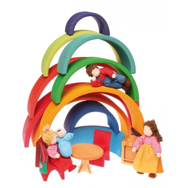 arco iris waldorf brinquedo legal 16