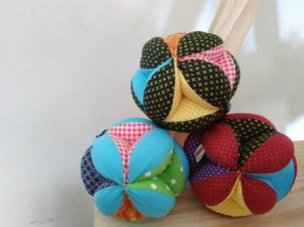 bola sensorial montessori