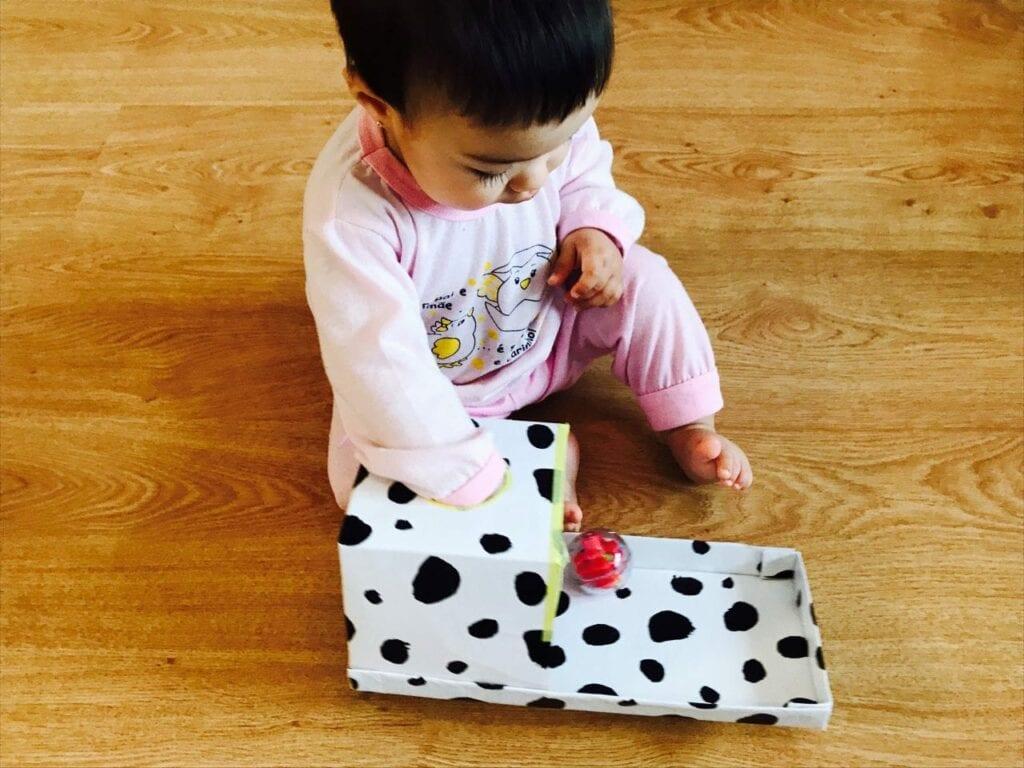 como fazer caixa de permanencia montessori