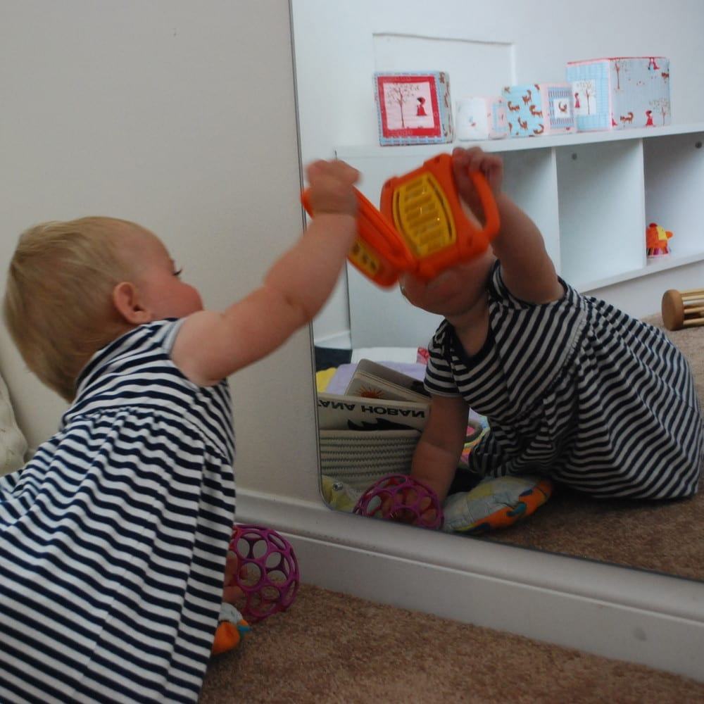 espelho montessori