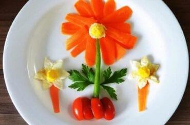jardim com legumes