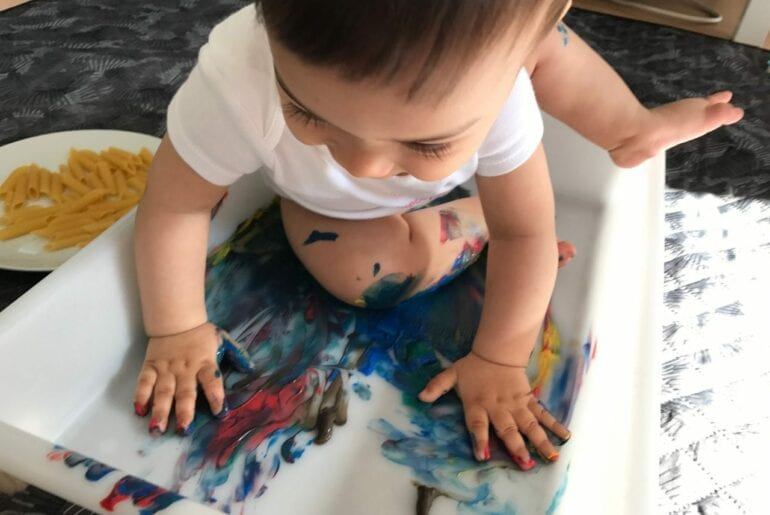 pintura com macarrao 06