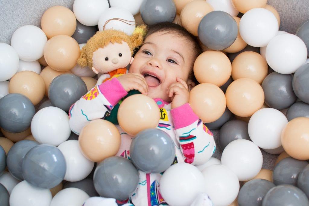 Piscina de bolas infantil mais bonita do mundo for Bolas piscinas infantiles