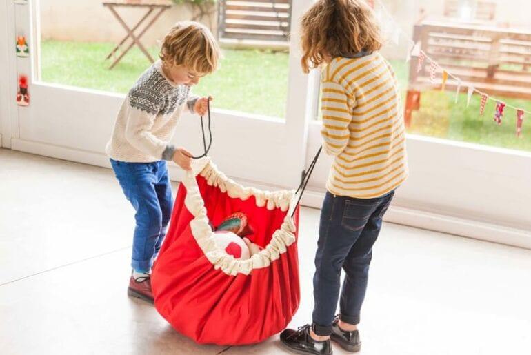 cooperacao das criancas em casa