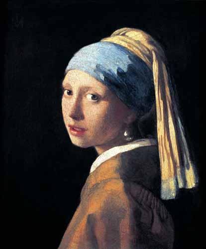 serenidade a jovem de la perla de johannes vermeer