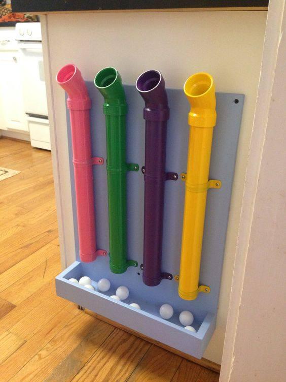 tubo das cores brinquedo para bebes