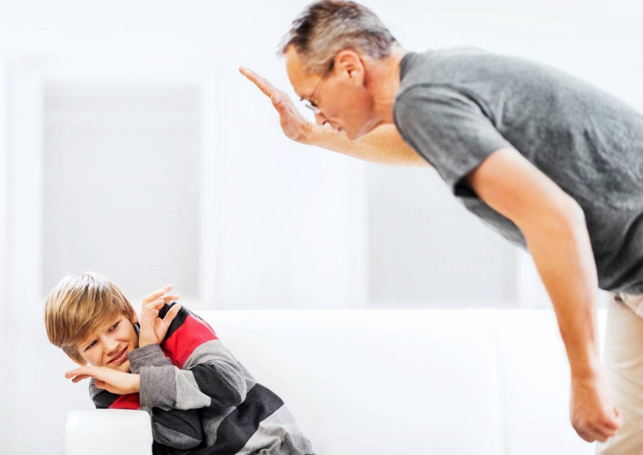 direito de bater em seu filho