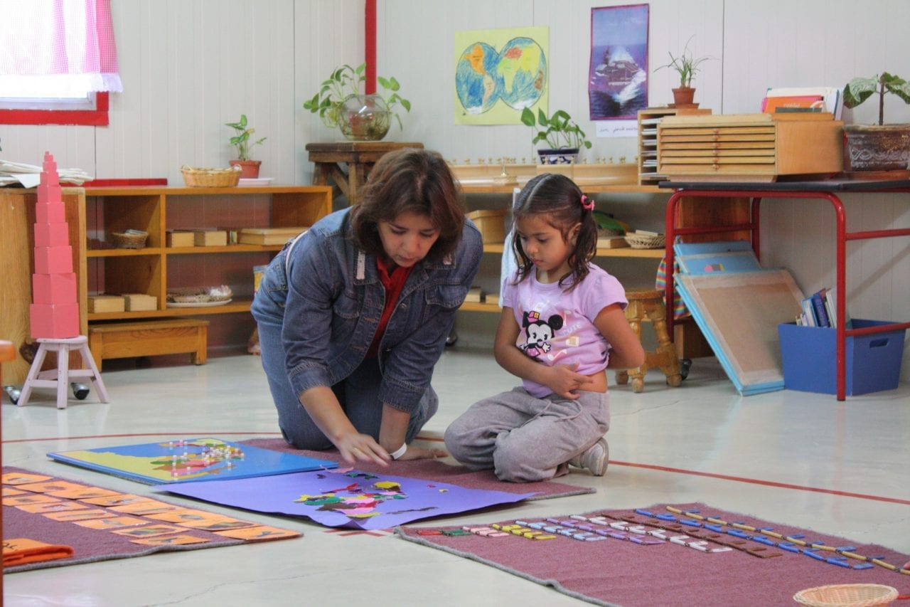 disciplina positiva e metodo montessori