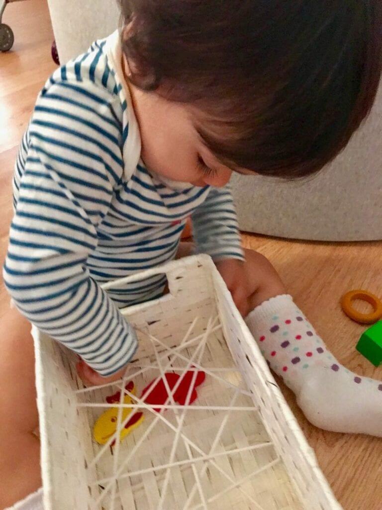 caixa de experimentacao montessori