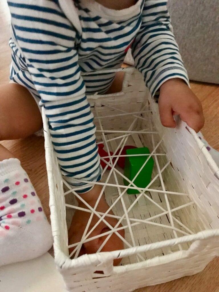 caixa de experimentacao sensorial