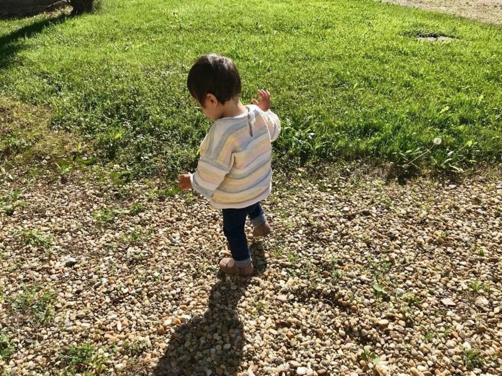 criancas explorando a natureza