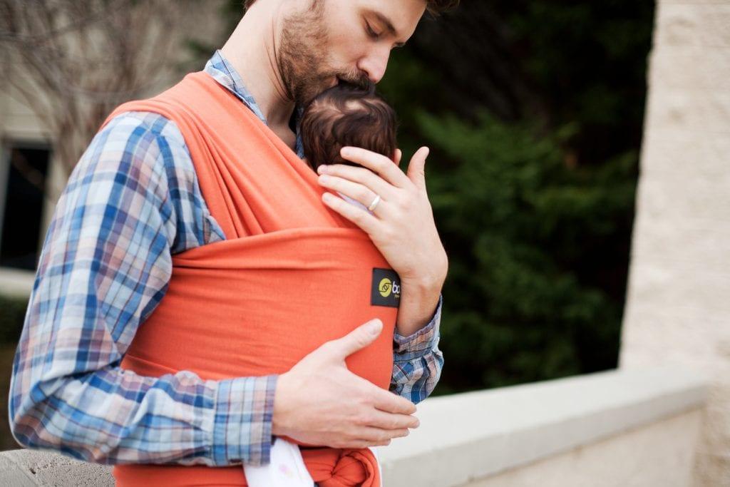 fotos de papais usando sling 11