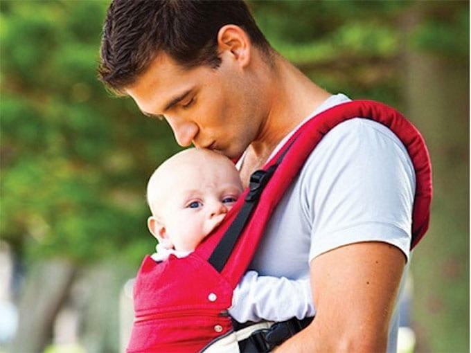 fotos de papais usando sling 29