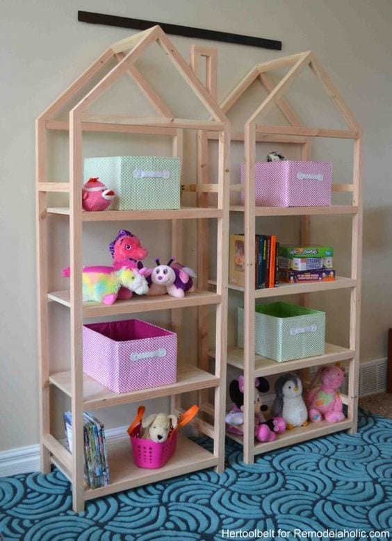 ideias para guardar brinquedos 24
