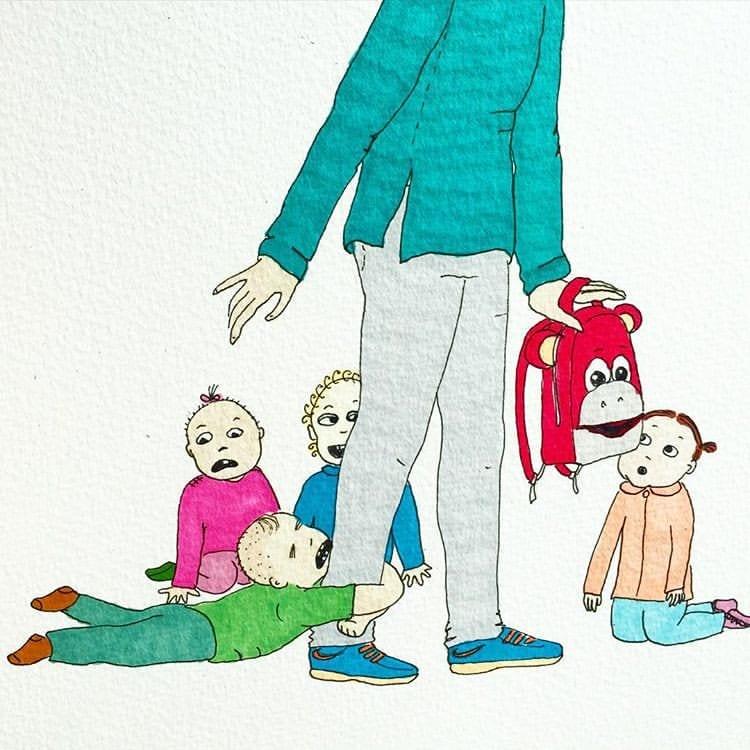 maternidade real - adaptacao no colegio