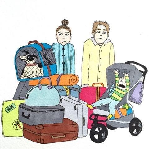 maternidade real - hora da viagem