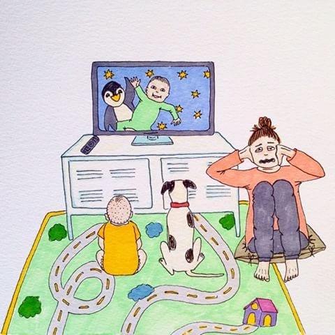 maternidade real - televisao so pra eles
