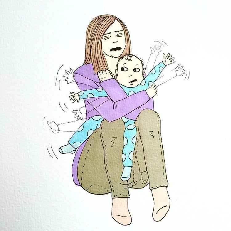maternidade real - vestindo o bebe