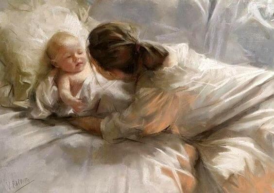o cerebro do bebe se nutre de amor