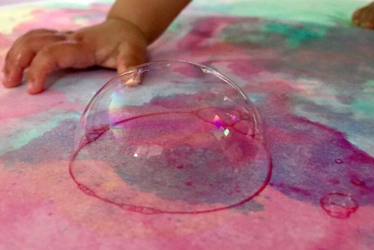 pintar com aquarela e bolhas de sabao 06