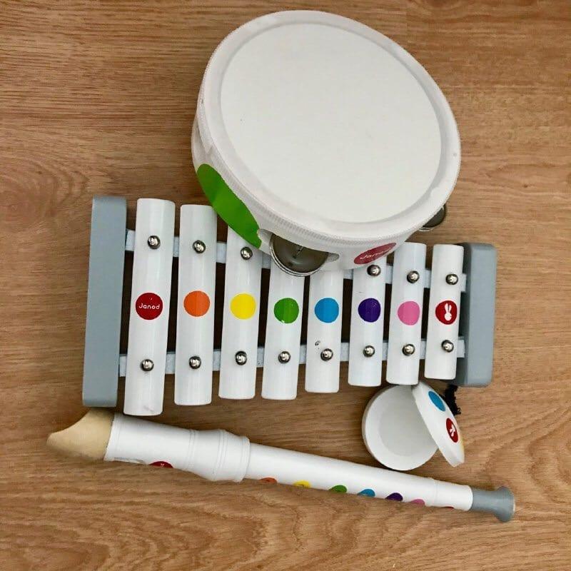 presente para bebe de 1 ano instrumentos musicais