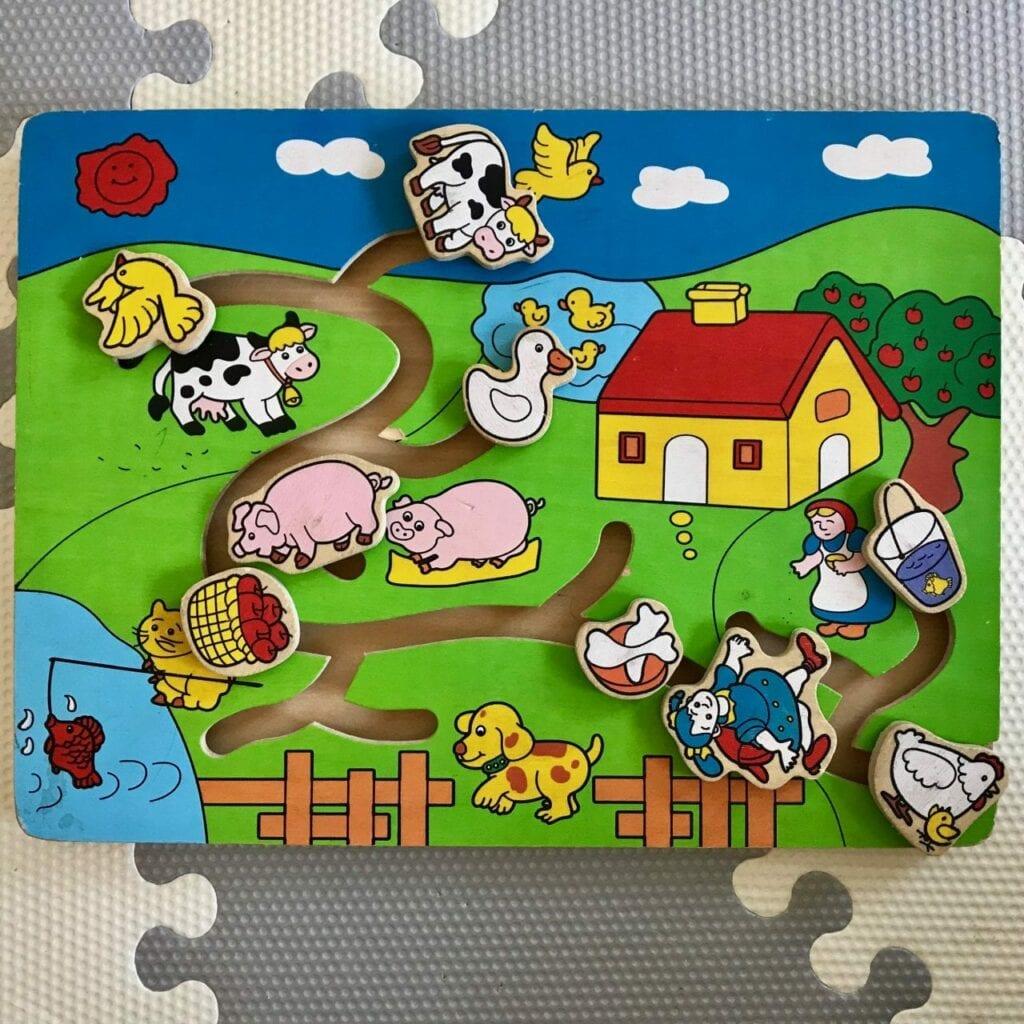 presente para bebe de 1 ano jogo labirinto