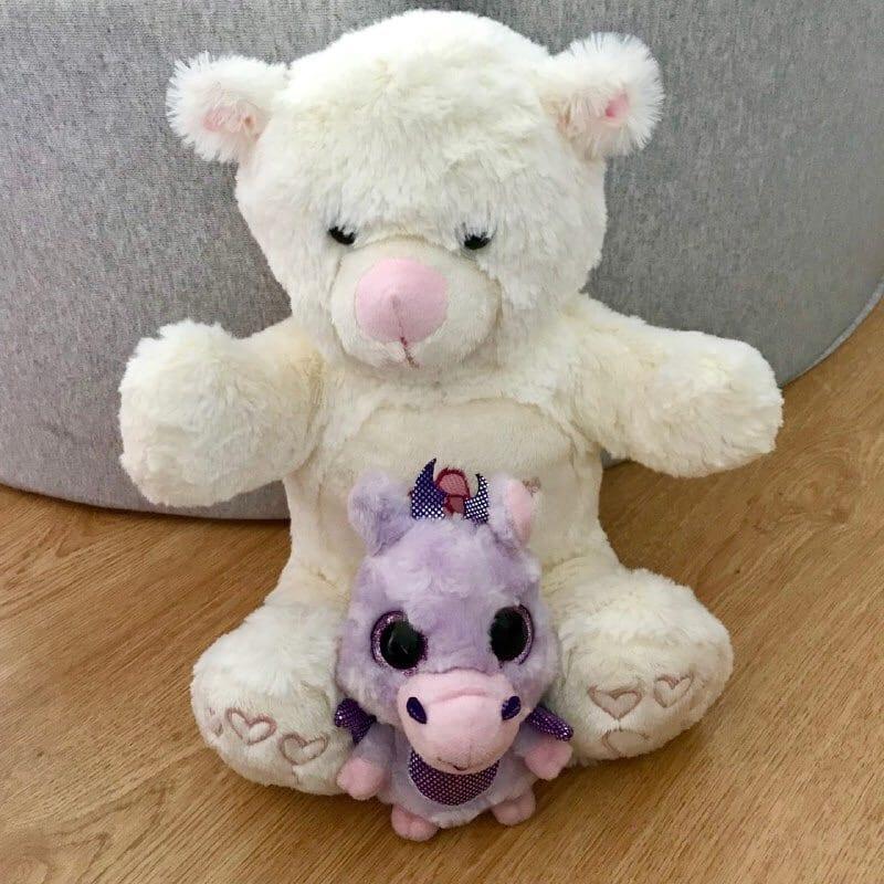 presente para bebe de 1 ano ursinho de pelucia