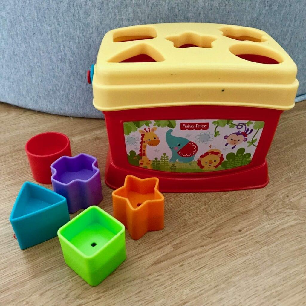 presente para bebe de um ano brinquedo de encaixe