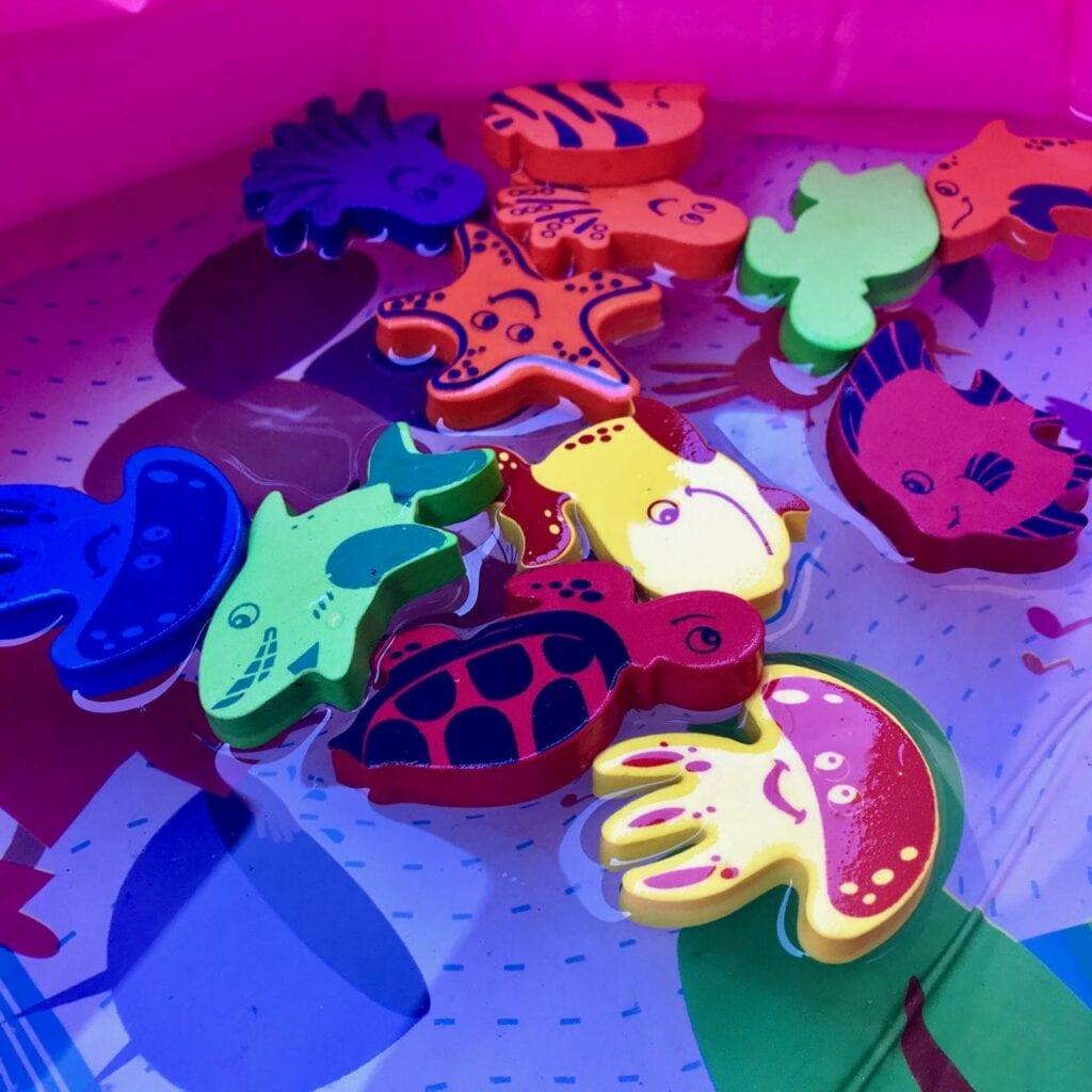 presente para bebe de um ano brinquedos para banho e piscina