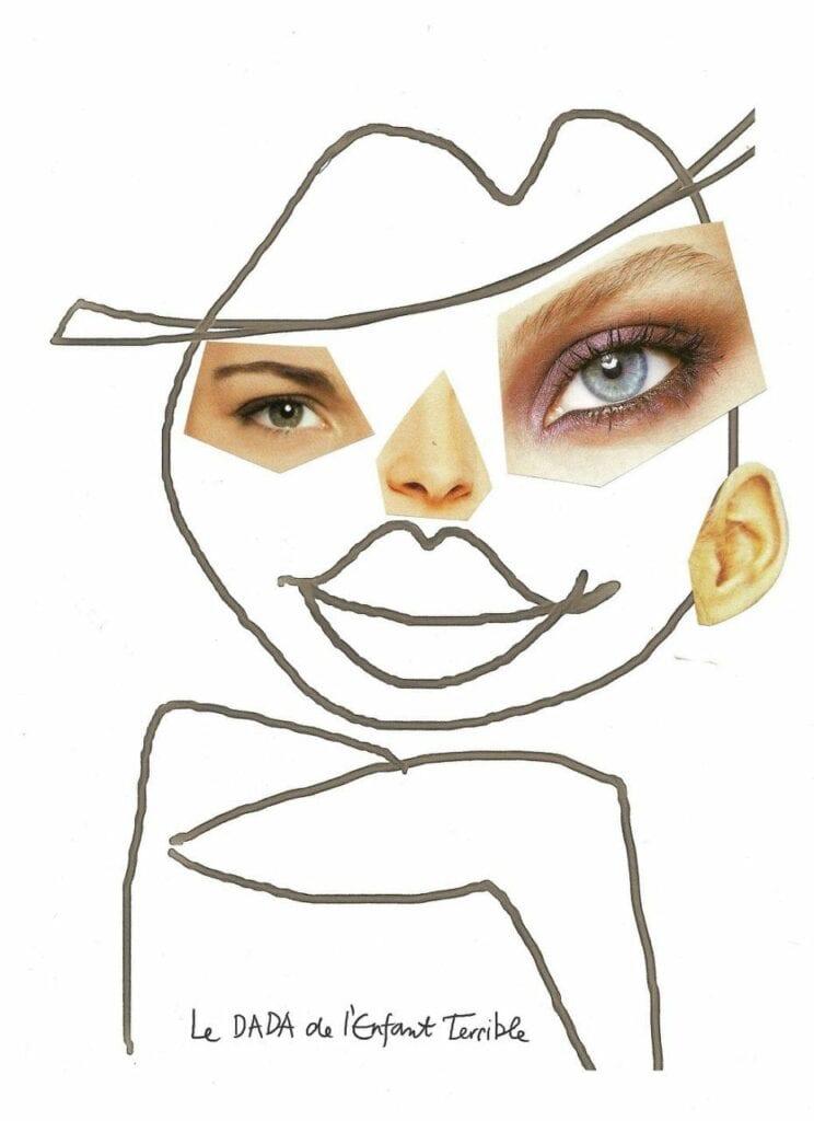 atividade criativa rosto humano 07