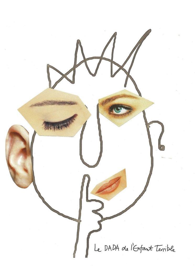 atividade criativa rosto humano 09 b
