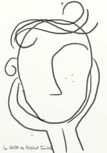 atividade criativa rosto humano 10