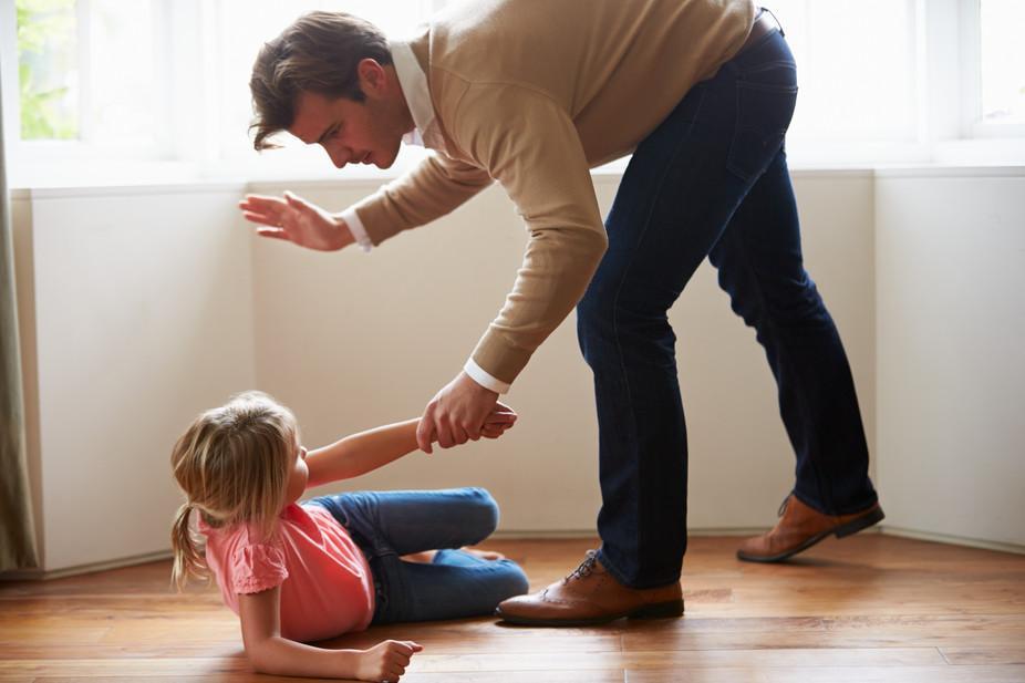 bater em seu filho