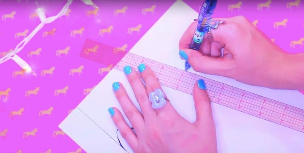 caderno unicornio personalizado diy 09