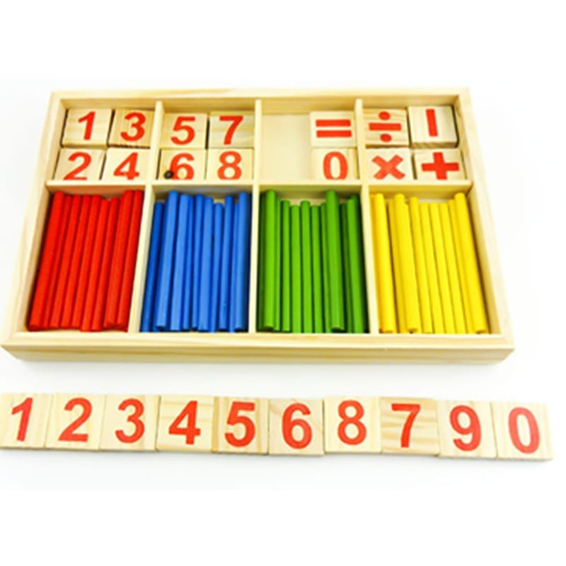 material montessori matematica