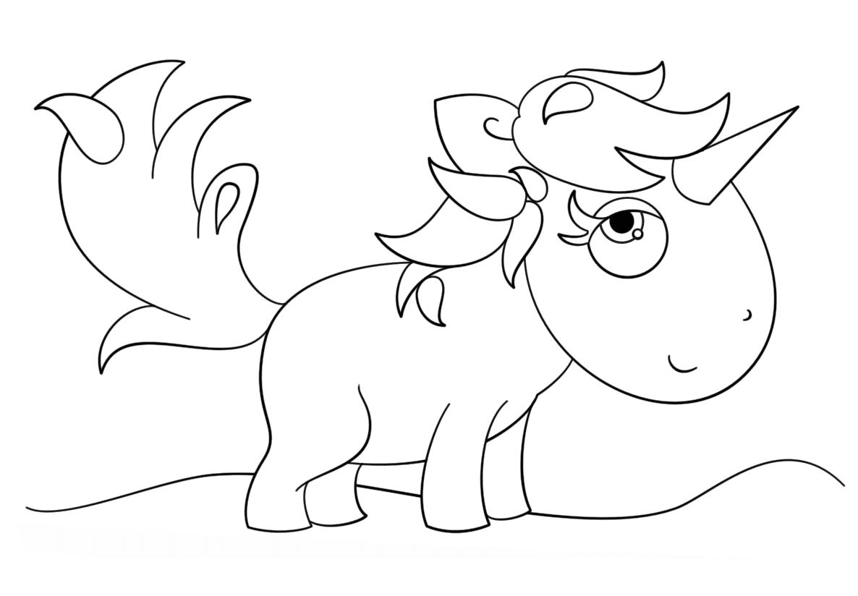 Unicornio triste para colorir criando com apego for Unicorno triste