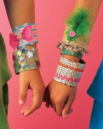 atividades dia do indio bracelete