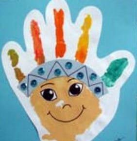atividades dia do indio pintura palma da mao 01