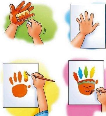 atividades dia do indio pintura palma da mao 02