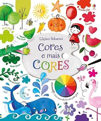 livro infantil para aprender as cores