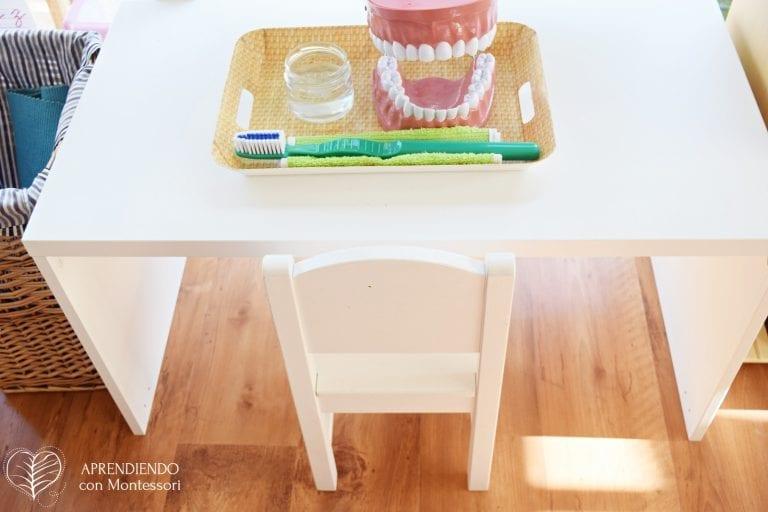 atividade sobre higiene escovar os dentes montessori 01