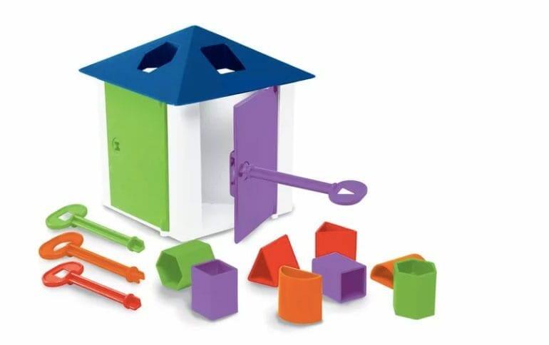 casa das chaves brinquedo educativo estrela 01