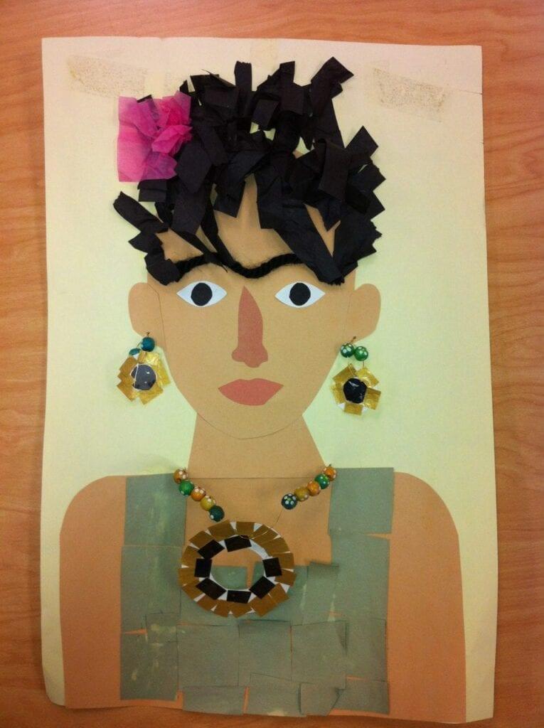 collage de Frida Kahlo