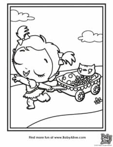 desenhos da baby alive para colorir 01