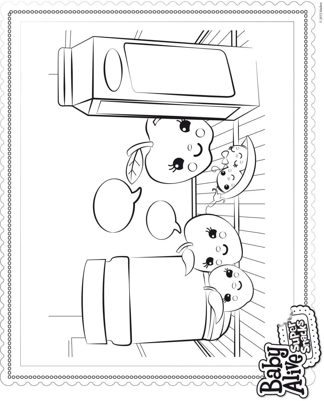 Desenhos Da Baby Alive Para Colorir E Pintar Criando Com Apego