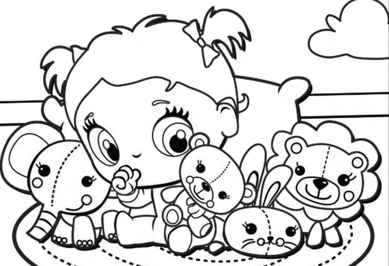 Desenhos Da Baby Alive Para Colorir, Pintar E Imprimir