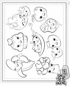 desenhos da baby alive para pitar e imprimir