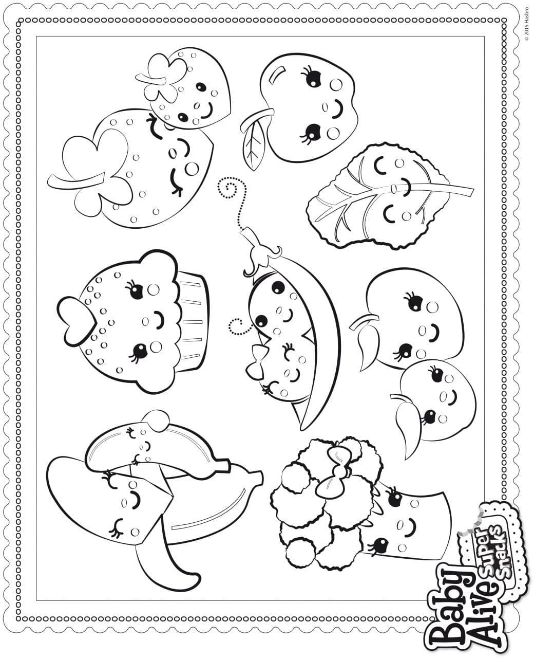 Desenhos Da Baby Alive Para Pitar E Imprimir Criando Com Apego
